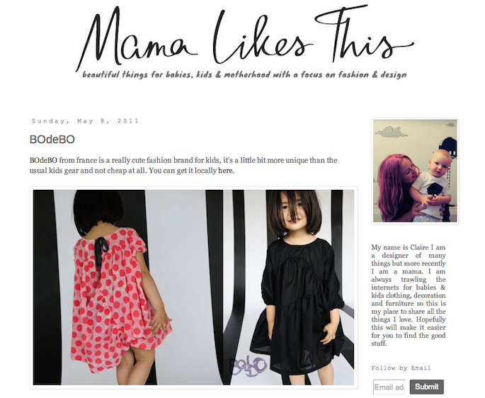 8855bd1a00fb BOdeBO from france is a really cute fashion brand for kids